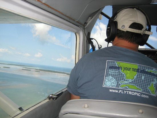 Tropic Ocean Airways: Nick gives us the aerial tour!