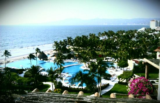 Grand Velas Riviera Nayarit: view from my room