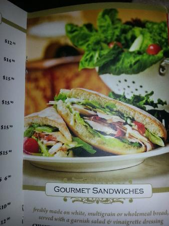 Shingle Inn: This is the photo advertised as a Gourment Sandwich