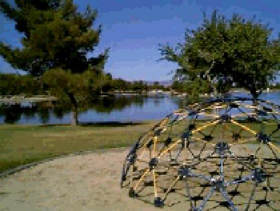 Lancaster, CA: Lake and Playground