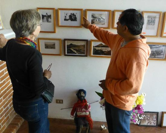 Casa Cakchiquel: Pedro...a wonderful tour guide who loves the Casa as much as anyone