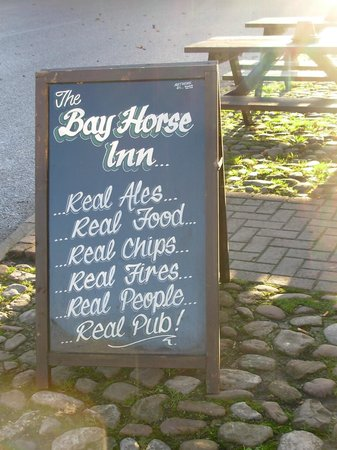 The Bay Horse: Does what it says on the Inn