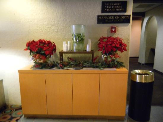 Doubletree by Hilton Tucson - Reid Park: NICE TOUCH IN THE LOBBY