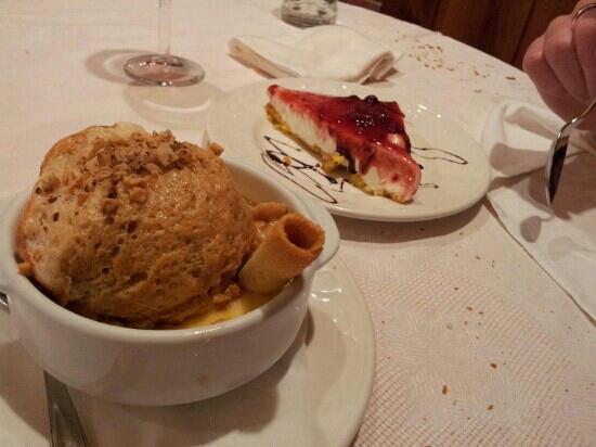 Restaurante Casa Cayo : postres