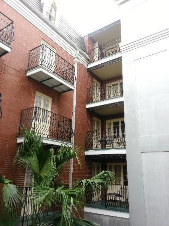 Hotel St. Marie: smaller balconies