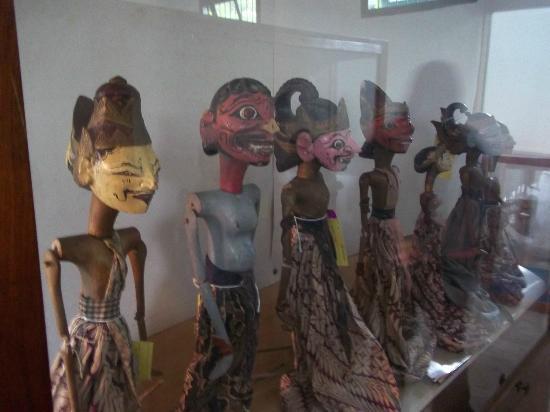 Sumedang, Indonesia: Koleksi Wayang Golek