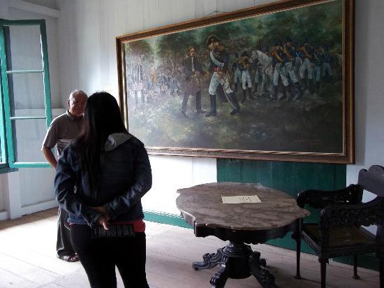 Sumedang, Indonesia: Lukisan Sejarah Pembuatan Jalan Cadas Pangeran