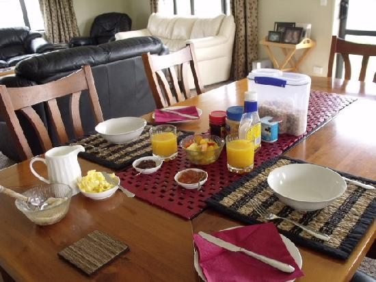 BigSky Bed & Breakfast: Choice of Cooked or Continental Breakfast