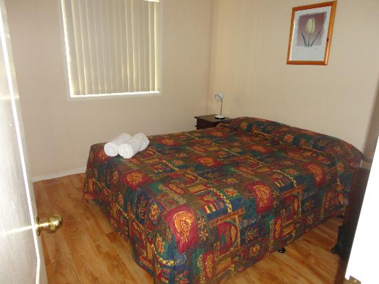 BIG4 Peppermint Park: Comfortable double bed