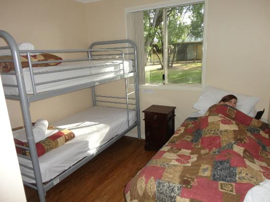 RAC Busselton Holiday Park: Second bedroom slept 3