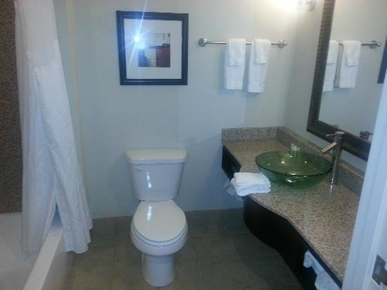 Holiday Inn - Hamilton Place: Room / Bathroom