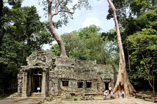 Cheathata Angkor Hotel: Temple