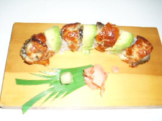 Akasaka Sushi: DRAGON ROLL