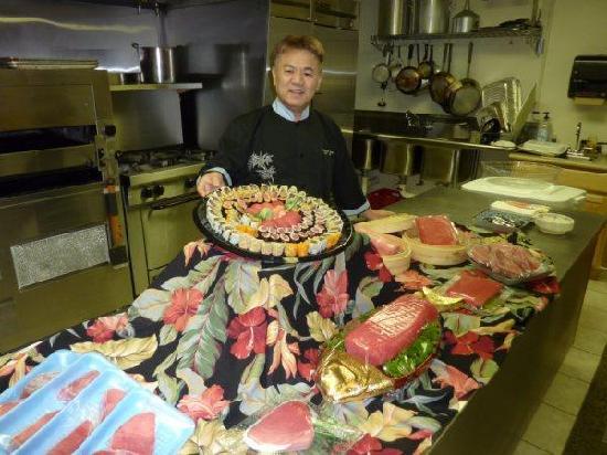 Akasaka Sushi: OWNER JOON