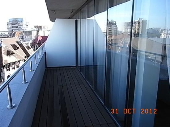 Sarroglia Hotel: Balcony