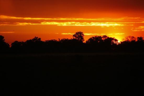 "Camp Okavango: Sunset at Camp ""O"""