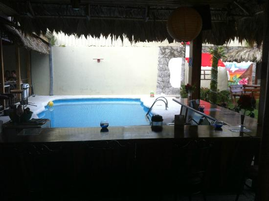 Arenal Hostel Resort: swim up bar (small but still good enough)