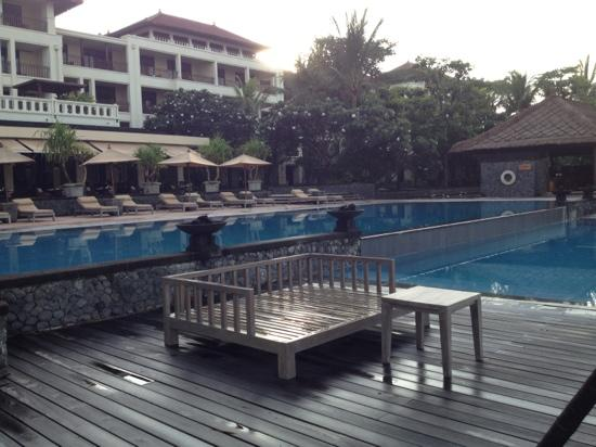 The Legian Bali: Just part of the pool