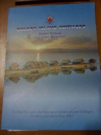 Golden Island Cottages - Nampan: Hotel brochure.