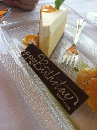 Little Palm Island Resort & Spa, A Noble House Resort: A slice of Happy Birthday