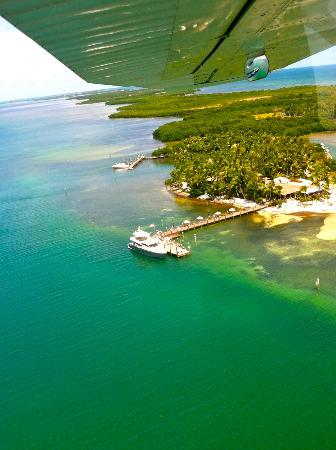 Little Palm Island Resort & Spa, A Noble House Resort: Aerial of Little Palm from the Seaplane