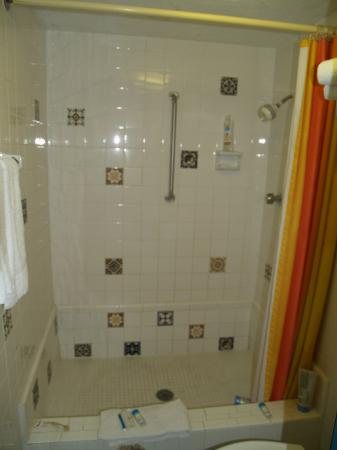 Casa Loma Inn: Big shower