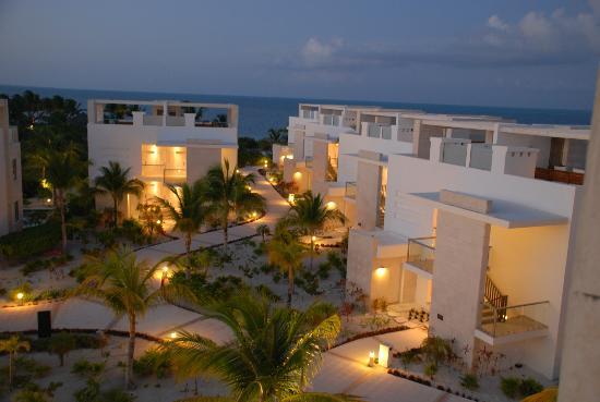 Beloved Playa Mujeres: Night view from Ocean view suite