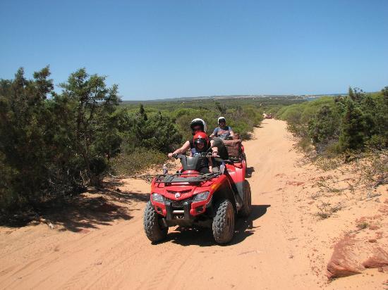 Kalbarri Quadbike Safaris: Quadbike Fun
