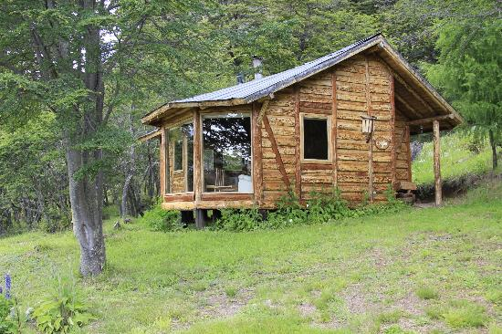 Mallin Colorado Ecolodge: The Coigue cabin from the outside