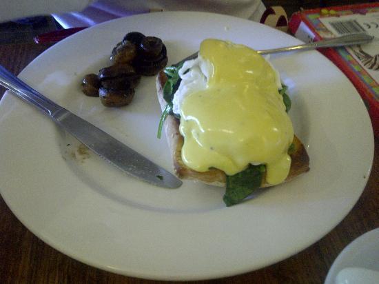 Saff's Cafe: poached egg