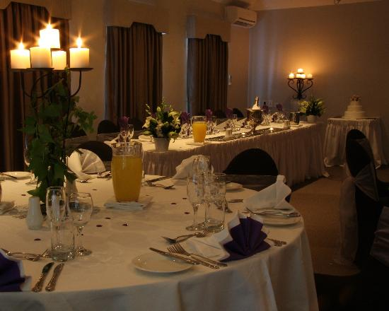 BEST WESTERN PLUS Buckingham International: Wedding set up
