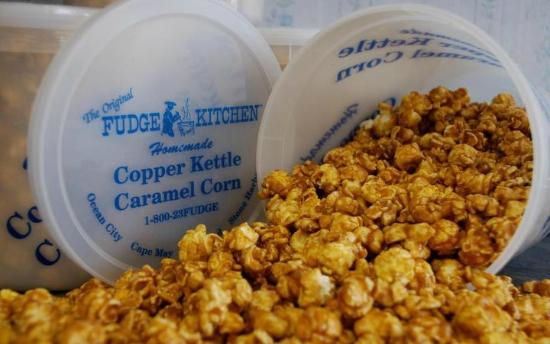 The Original Fudge Kitchen: Our famous Copper Kettle Caramel Corn!