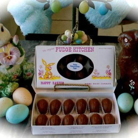 The Original Fudge Kitchen: Easter Peanut Butter Eggs..To die for!