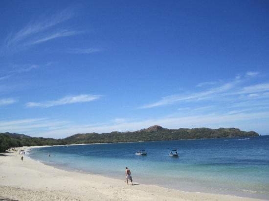 Mirador B&B: Playa Conchal.