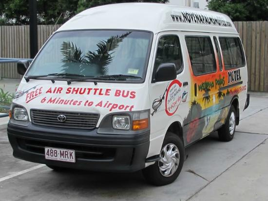 Novena Palms Motel: Free Shuttle Bus To Aiport Mon - Sat