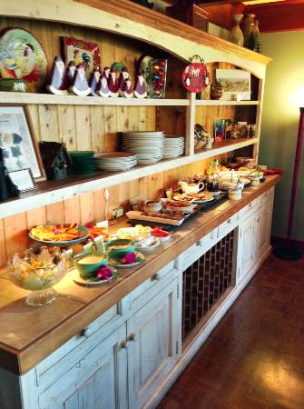 The Elk Cove Inn & Spa : Amazing Breakfast