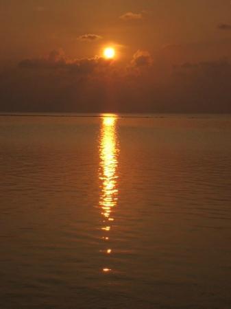 Summer Island Maldives: coucher de soleil au Summer
