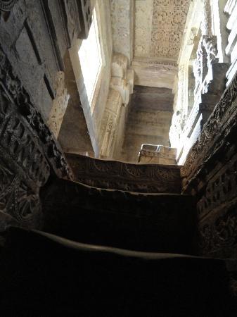 Vijay Stambha: The winding staircase inside the tower