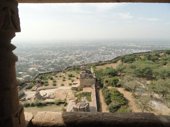 Vijay Stambha: View from the top