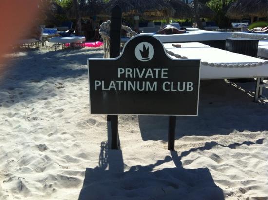 Bavaro Princess All Suites Resort, Spa & Casino: platinum go!!