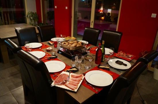 Couleurs Bois & Spa: dîner