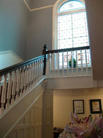 Medindi Manor: L'escalier de la maison