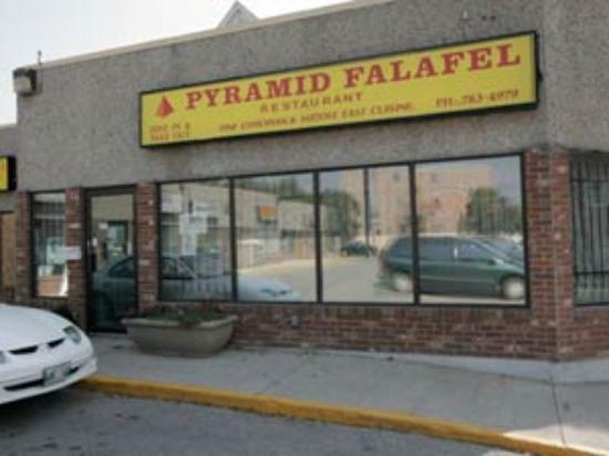 Pyramid Falafel Foto
