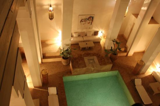 Hotel & Spa Riad Al Jazira : Piscina / Comedor