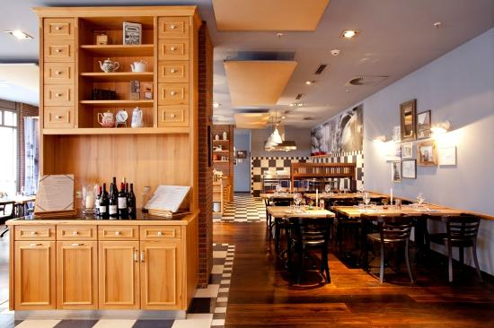 Hamburg Marriott Hotel: Restaurant Speicher 52
