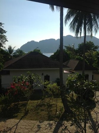 Phi Phi Bayview Resort: view from our deluxe room