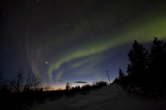 Davvi Arctic Lodge: Northern Lights
