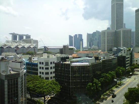 InterContinental Singapore: View from 10th floor