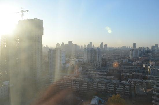 Hotel Nikko Tianjin: 部屋からの眺め
