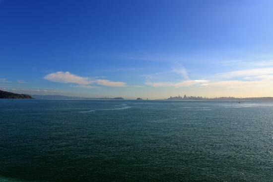 The Inn Above Tide: SF and the bay - I took this from the balcony of my room!